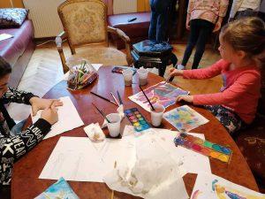 škola slikanja holi