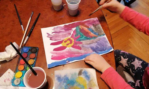Škola slikanja za decu i roditelje