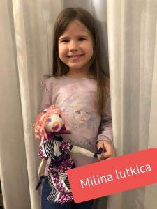 Milina online Holi Kids lutkica