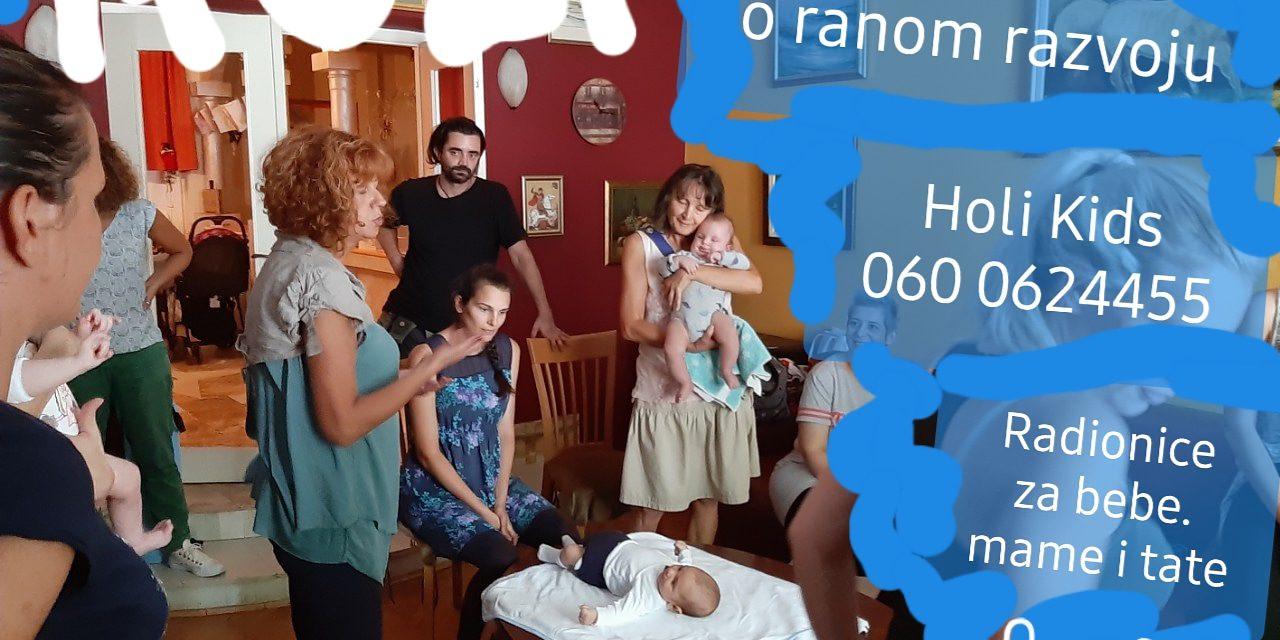 """""""Sa Dacom o ranom razvoju"""", radionice za bebe i roditelje"""
